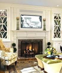 decorating ideas for fireplace mantel with tv above above fireplace ideas over fireplace ideas article on