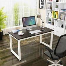 home office table desk. Computer Desk PC Laptop Table Wood Workstation Study Home Office Furniture