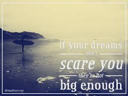 If Your Dreams Don T Scare You Quote Who Said Best of Inspiration Quote If Your Dreams Don't Scare You They're Not Big