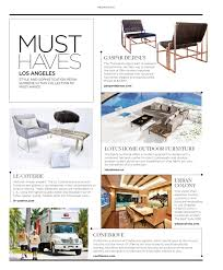 Colony Design Los Angeles Luxe Magazine September 2015 Los Angeles By Sandow Issuu