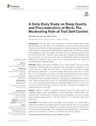Pdf Things To Do Today A Daily Diary Study On Task