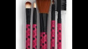 make up brush set review in hindi