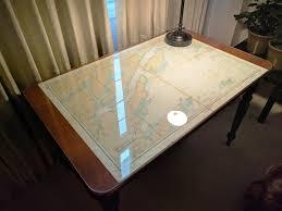 Sailing Vessel Still Time Chart Table Desk