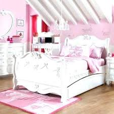 Style Pink Princess Girl Bedroom Furniture Bed Set ...