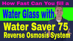 How FAST <b>Can</b> You fill Water Glass HUM <b>WATER SAVER</b> 75 ...