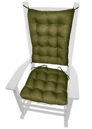 rave sage green porch rocker cushions latex foam fill fade resistant dining chair padsdining