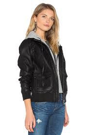 blanknyc hooded jacket ing women blanknyc vegan leather moto jacket in frankenstorm clearance