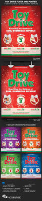 Flyers For Fundraising Events Toy For Tots Graphics Designs Templates From Graphicriver