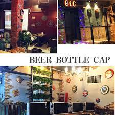 Beer Bottle Cap <b>Beer Vintage Metal Tin</b> Signs Cafe Bar Signboard ...