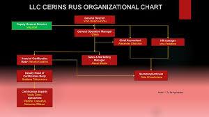 Llc Cerins Rus Organizational Chart Online Presentation