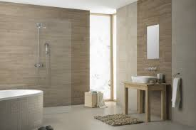make your bathroom seem more like a sanctuary wood effect tiles are a great way of creating a secluded area your own private spa surround