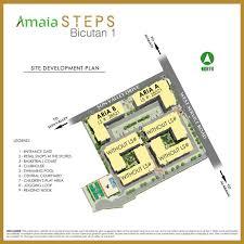 amaia steps bicutan site development plan