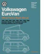 eurovan manual 1992 1999 volkswagen eurovan printed repair manual vv99