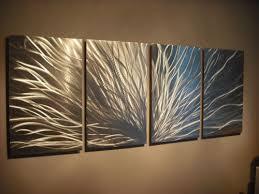 abstract metal wall sculpture acrylic modern art