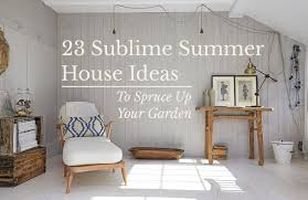 Cozy swing chairs garden ideas Porch Swings Thought Of Spending More Time Outside Is Pleasant And Greatly Anticipated One Whether It Be For Dining Alfresco Or Brushing Up On Gardening Skills Amara 23 Sublime Summer House Ideas To Spruce Up Your Garden