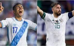 Guatemala vs Mexico: Confirmed lineups ...
