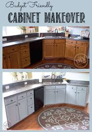 Small Picture Budget Friendly Cabinet Makeover The DIY Village