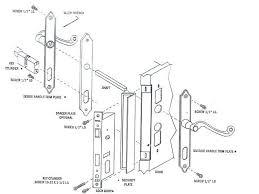 Door Locks Parts Diagram Door Lock Assembly Diagram Cross Section Of