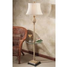 tables with lamps attached table with lamp attached floor lamp with table tray end table rack combo