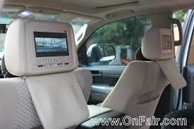 car headrest dvd player install in 2008 toyota tundra headrest dvd player reviews