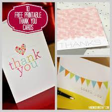 Free Printable Thank You Postcards 10 Free Printable Thank You Cards