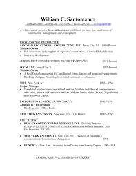 construction services sgcm billy s resume