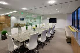 office meeting room. Office Conference Room. Furniture. White Leather Swivel Chairs With Silver Steel Legs Combined Long Meeting Room R