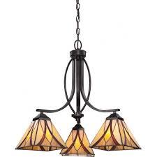 3 light bronze ceiling pendant light