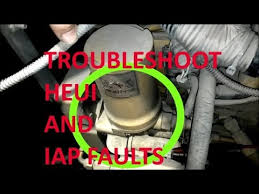 how to troubleshoot heui systems and iap faults 164 faults 3126 how to troubleshoot heui systems and iap faults 164 faults 3126 c7 and c9 cat engines