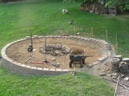 captivating pea gravel fire pit for your outdoor decor ideas built my dream pea gravel