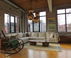 rocking chair modern Living Room Industrial with arched windows black  window. Image by: Jenn Hannotte Hannotte Interiors