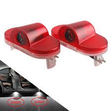 <b>2Pcs</b> Universal Wireless Car <b>LED Door</b> Projector Car <b>Door</b> Welcome ...