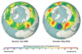 where do jet streams form extreme weather events linked to climate change impact on the jet stream