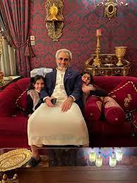 """الوليد بن طلال on Twitter: """"ما أغلى من الابنة إلا ابنة الابنة… """""""