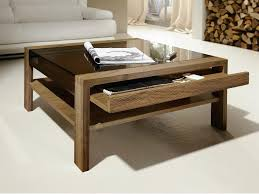 Adjustable Height Coffee Table Drawers