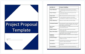 Ms Word Proposal Template Trituradoraco Fascinating Proposal Template Microsoft Word