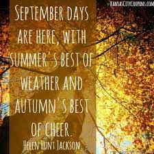 autumn september quote and sayings