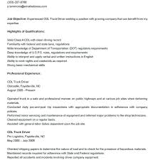 Resume Truck Driver Position Driver Duties Job Description Truck Driver Truck Driver Job