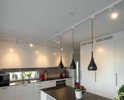 track lighting for kitchen. Kitchen Track Lighting With Edison Bulbs For