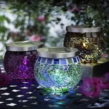 Solar Powered Garden Light Stock Photo  Image 41345446Solar Mosaic Garden Lights