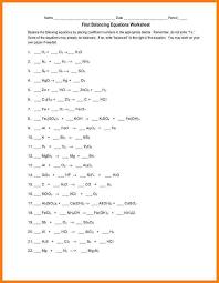 4+ balancing equations worksheet | letter format for