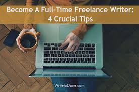 become a lance writer crucial tips wtd