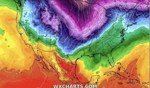 Weather Us Model Charts Us Weather Shock 40c Map Shows Chicago And Midwest Wiped