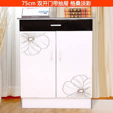 shoe cabinet rack double open the door colored drawing paint shelf double r63 drawing