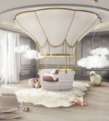 amazing fantasy air balloon bed interiors creative childrens rooms within fantasy kids beds popular