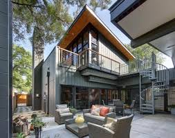 Modern House with Beautiful Outdoor Rooms after Amazing Transformation and  Interior Redesign
