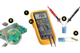 how to mere capacitance with a