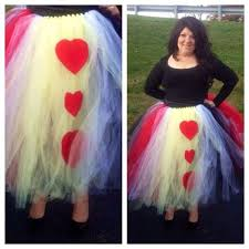 diy tutu awesome queen of hearts tutu costume women s size 8 12 diy tutu best of long black tulle skirt