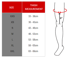 Mobius X8 Size Chart Mobius X8 Knee Braces White Left Right