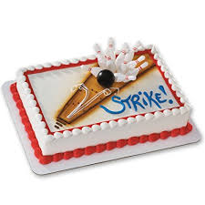 Bowling Cake Decorations
